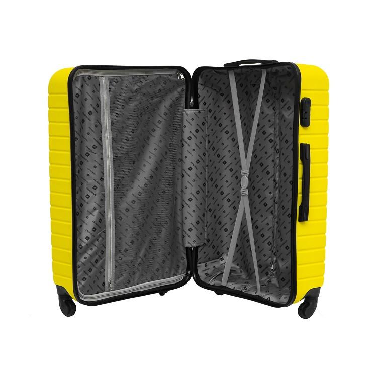 mala-travelux-wengen-tamanho-m-amarela-aberta