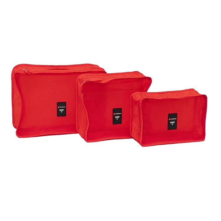 kit-organiador-de-malas-com-6-peças-travelux-vermelha-necessaires-organizadoras