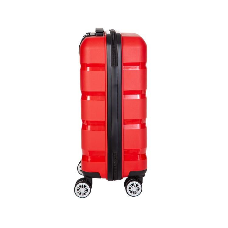 mala-travelux-zurich-ii-tamanho-p-vermelha-lateral