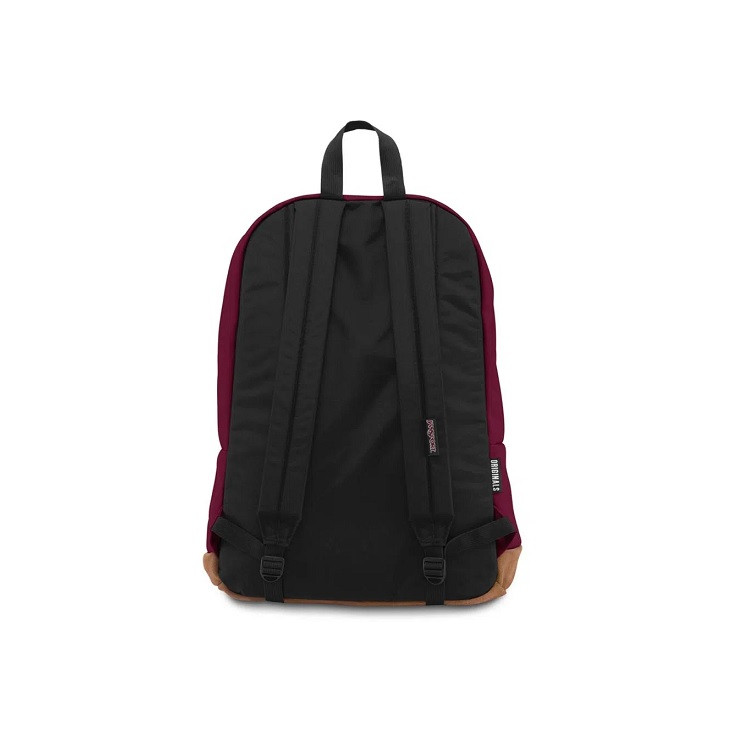 mochila-jansport-right-pack-russet-red-traseira