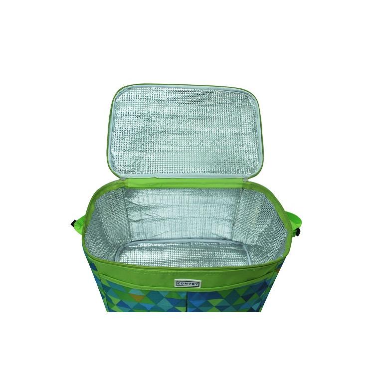 bolsa-térmica-yin's-ys26002-verde-aberta