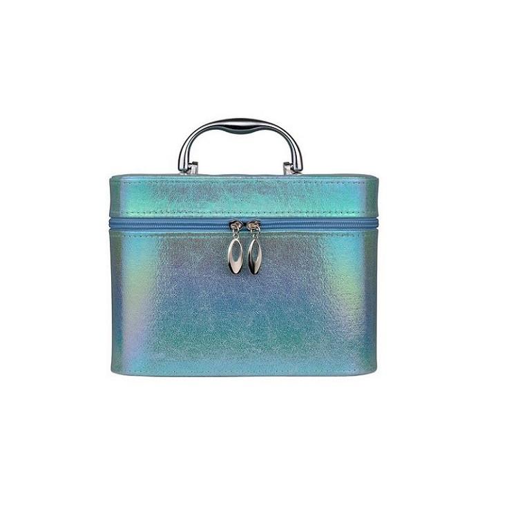 maleta-de-maquiagm-holográfica-azul