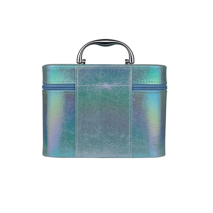 maleta-de-maquiagm-holográfica-azul-traseira