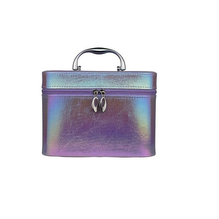 maleta-de-maquiagm-holográfica-roxa