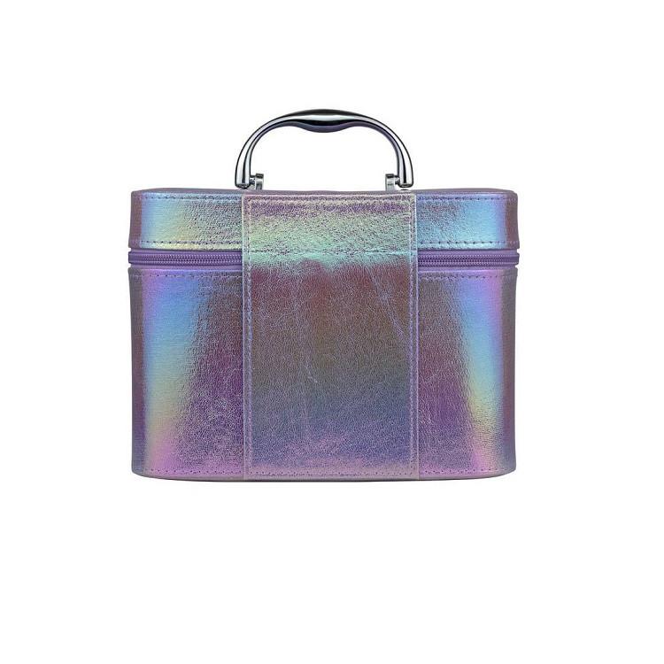 maleta-de-maquiagm-holográfica-roxa-traseira
