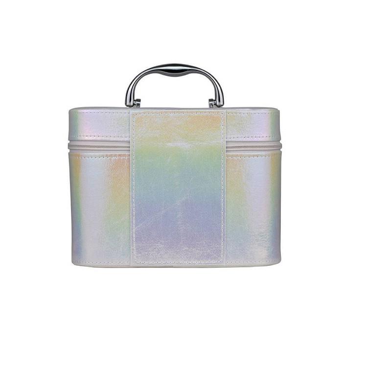 maleta-de-maquiagm-holográfica-branca-traseira