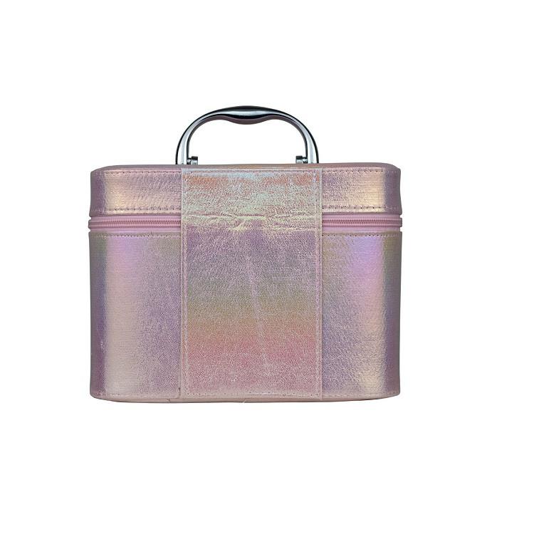 maleta-de-maquiagm-holográfica-rosa-traseira