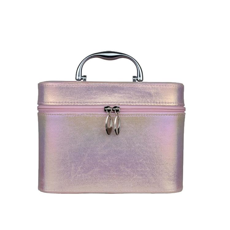 maleta-de-maquiagem-holográfica-g-rosa