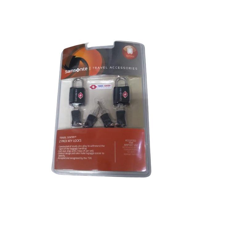 cadeado-samsonite-com-chave-TSA-TS309-embalagem