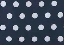 Dark Denin Polka Dot