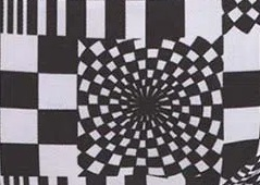 distorted checkerboard